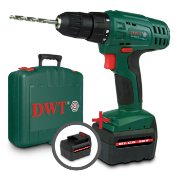 Шуруповерт аккумуляторный DWT ABS-12 TC-2 BMC