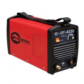 Сварочный инвертор для аргонно-дуговой сварки Intertool DT-4220