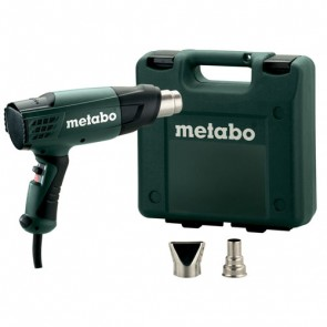 Промышленный фен Metabo H 16-500 в кейсе