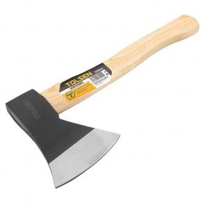 Топор универсальный Tolsen, деревянная ручка, 1 кг.